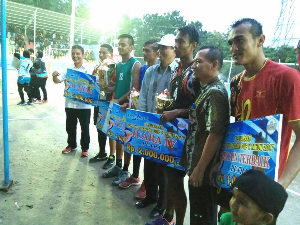 Bolavoli Nagari Cup Final