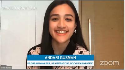 Andari Gusman Program Manager, HR Operations Google Asia Pasific
