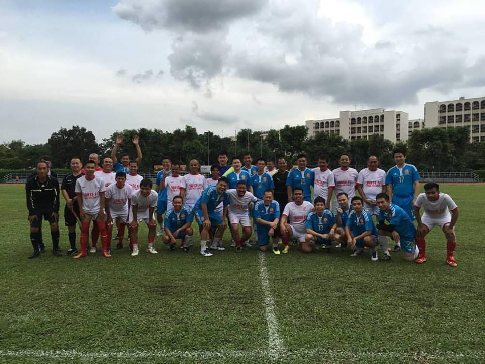 Barisan para Pemain Mantan Menyalurkan Hoby di Janse FC