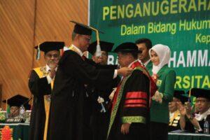 Wapres Jusuf Kalla Resmi Sandang Gelar Doktor