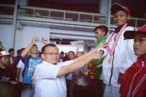 Andri Satria Direktur Teknik PDAM Padang Dukung Kontingen Padang di Porprov XIV