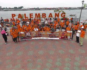 Teruci Chaprendang Sumbar Ikuti HUT One Decade Teruci di Palembang