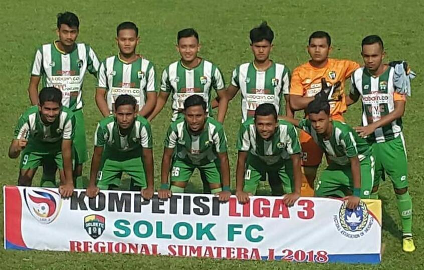 Congratulation, Solok FC Lolos Babak Nasional Liga 3