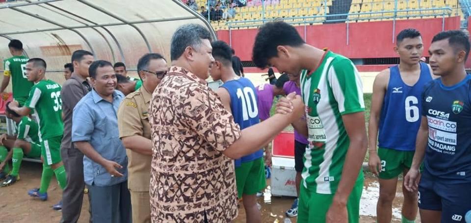 Walikota Solok Apresiasi Kemenangan Solok FC Atas Medan Utama