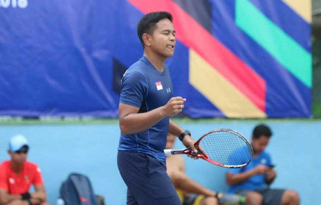Perjuangan Risky Syahputra Terbayar Lunas, Raih Perunggu di Kejuaraan Internasional Soft Tenis
