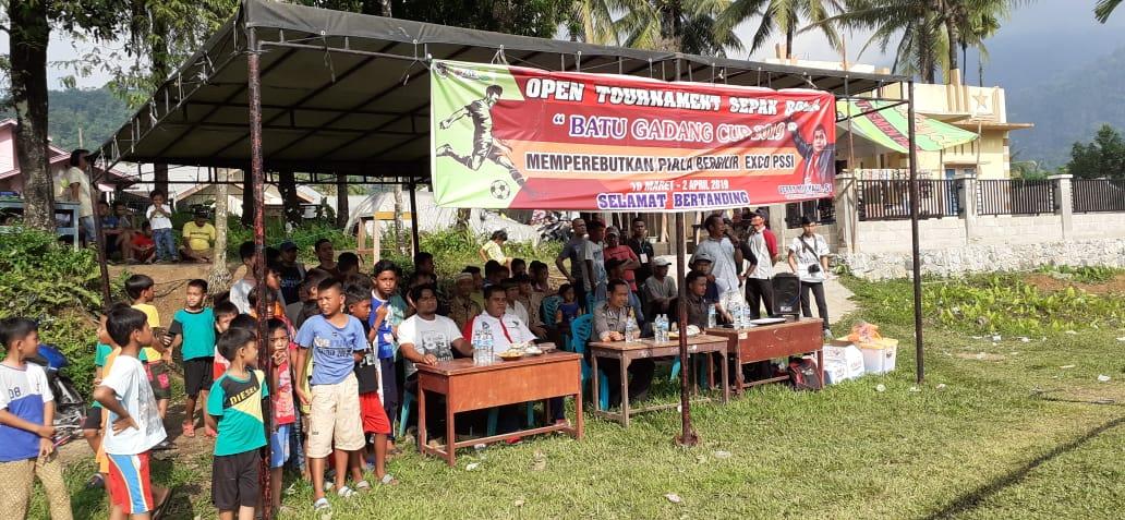 Exco PSSI Dukung Penyelenggaraan Turnamen Sepakbola Batu Gadang Cup 2019