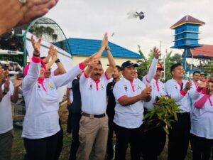 BWS Sumatera V dan Polda Sumbar Pererat Silaturrahmi Melalui Festival Danau Cimpago