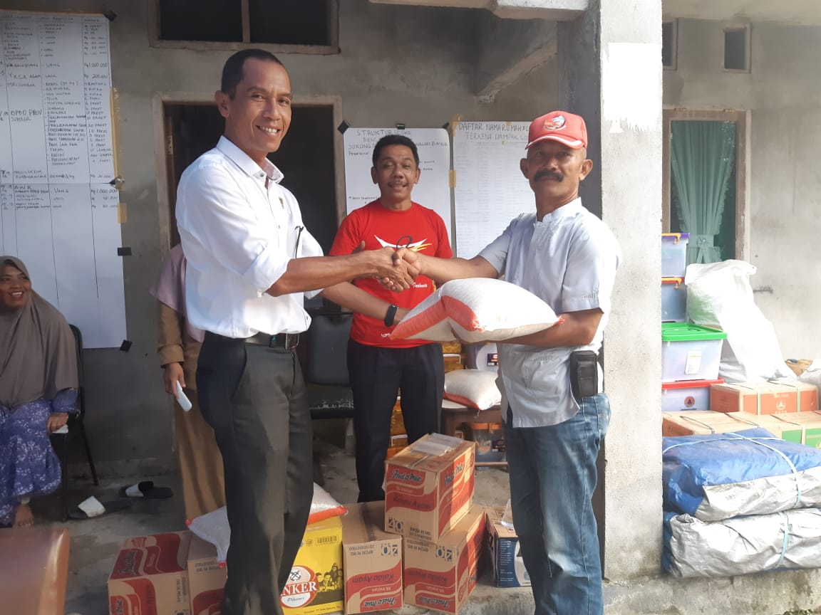 Menjemput Aspirasi Korbaan Banjir Bandang di Sungai Rangeh, Fraksi Gerindra Kabupaten Agam Tunjukkan Kepedulian