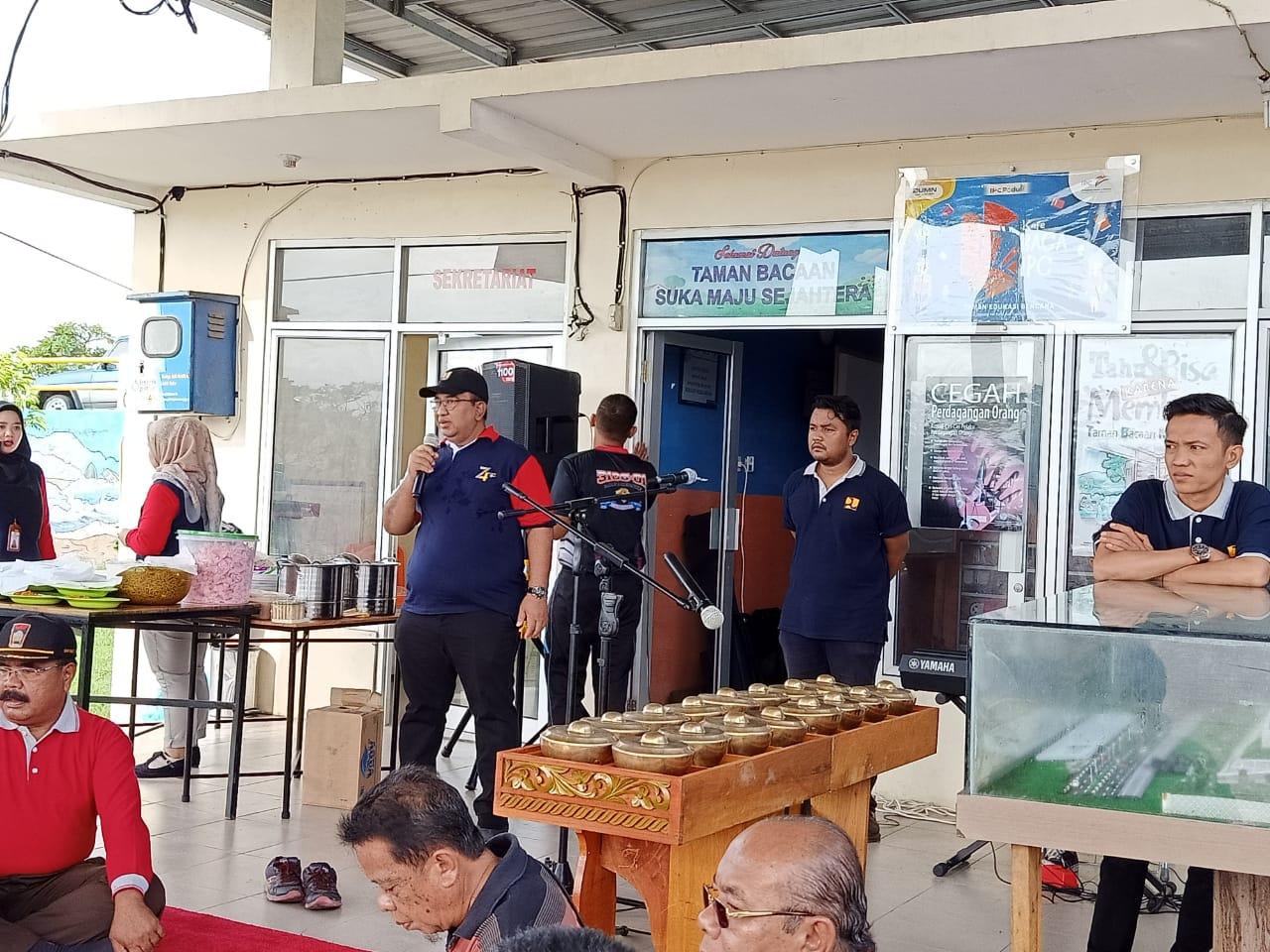 Lontong Cuma Rp2 Ribu Perporsi , BWS Sumatera V Launching Warung Berkah di Danau Cimpago