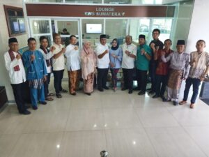 Budayakan Transparansi, Tamu BWS Sumatera V Dijamu di Lounge yang Nyaman