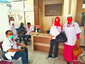 JPKP Kota Payakumbuh Mendaftar ke Kesbangpol