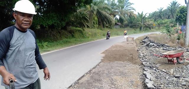 Minim Rambu Peringatan, Proyek Perbaikan Jalan Nasional di Pasbar Rawan Kecelakaan