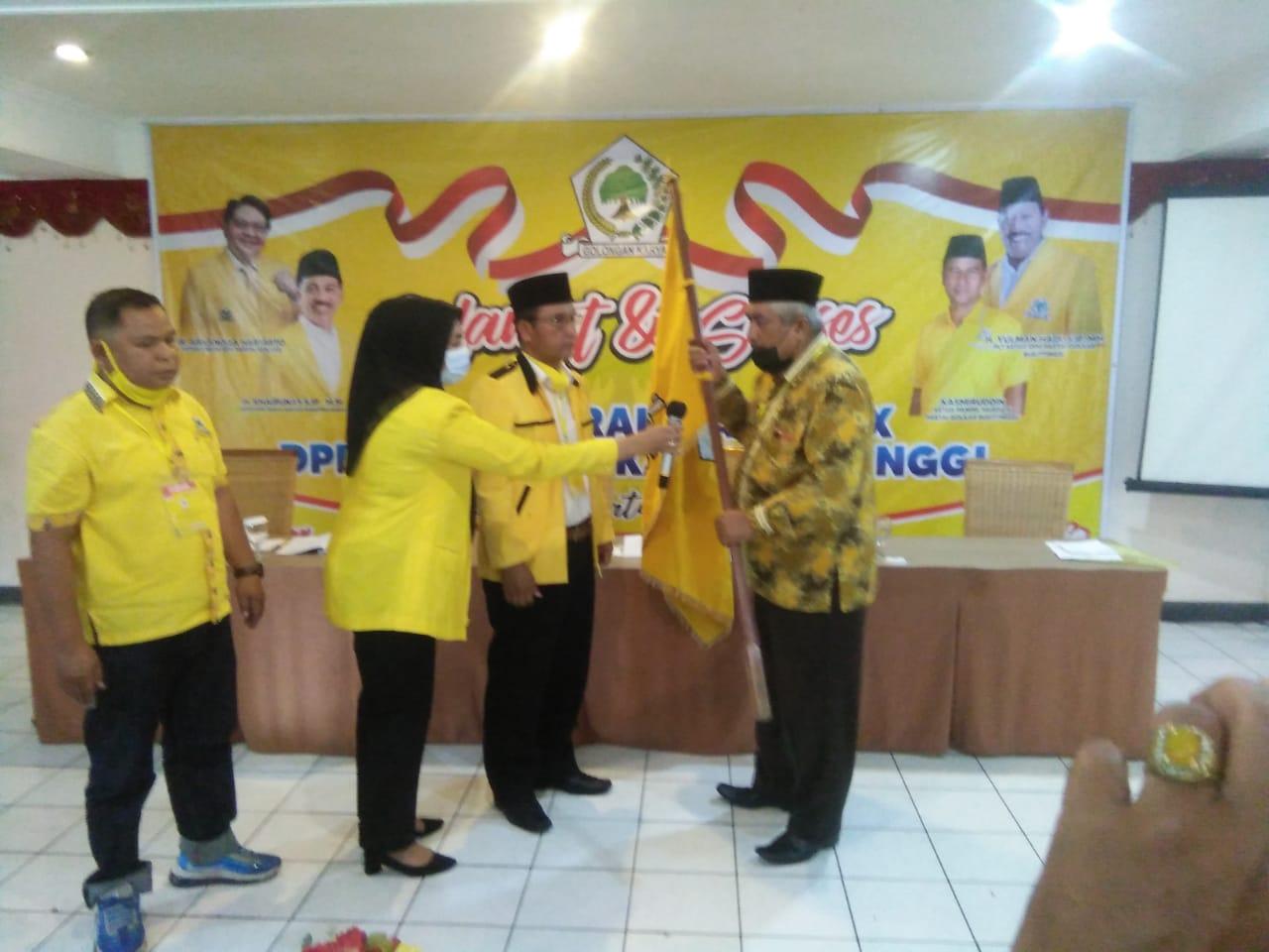 Kamarsil Katik Terpilih Sebagai Ketua DPD Golkar Bukittinggi Periode 2021-2026
