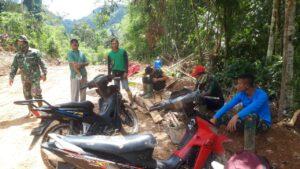 Wujud Kemanunggalan TNI Bersama Rakyat Pada TMMD/N ke 111