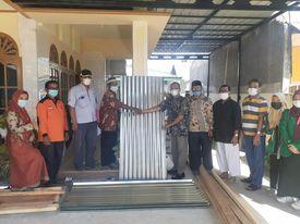 Korban Kebakaran di Ampera Dibantu Semen Padang