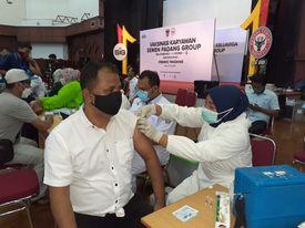Semen Padang Gelar Program Vaksinasi Dosis 2 untuk Gelombang II