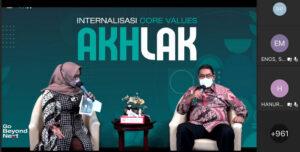 Dirut PT Semen Padang Internalisasikan Nilai-nilai AKHLAK kepada Insan SIG Group