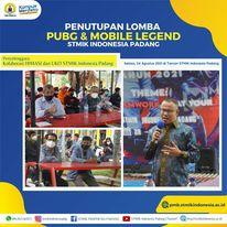 Masyhuri Hamidi Tutup E-Sport Turnament Mobile Legend and PUBG