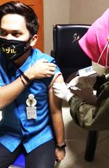 SPH Laksanakan Vaksinasi Moderna untuk Tenaga Medis