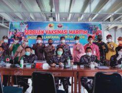 Kapal Perang KRI Bontang 907 Sisir Kepulauan Mentawai